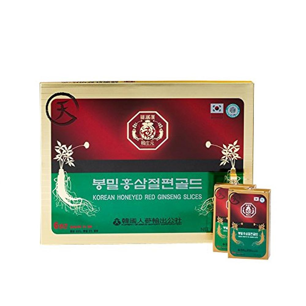 Red Ginseng Honeyed Slices