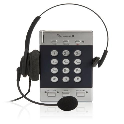 ZiphoneII | Ziphone II, smart desktop, voice communications solution, personal CTI functions, Automatic dialing, Digital call recording