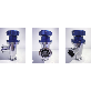 Manual Valve cnw mv 40 | Manual Valve, Vacuum Valve, Angle Valve, NW40 Valve, Manual Angle Vlave