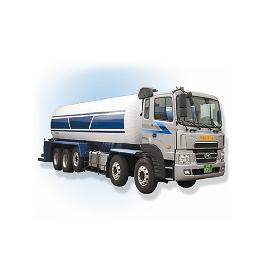 Storage and delivery L-CO2 Tank Lorry (Diameter : 1600 ~ 1750mm   Height : 1809 ~ 2076mm)