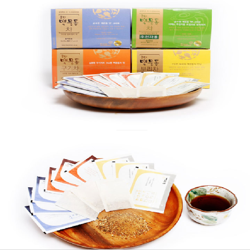 Flower and Mountain Broadleaf Liriope Tea 45g | tea, health tea, traditional tea, flower tea, korean tea
