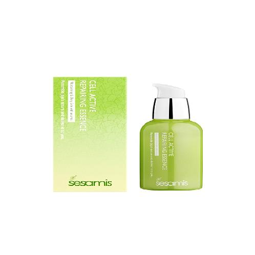 SESAMIS CELL ACTIVE REPAIRING ESSENCE | skin care, essence, cosmetic,sesamis
