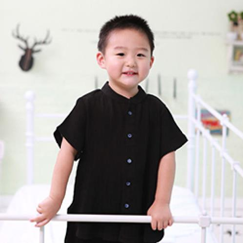 Foresntree Yoro Chiffon Wrinkled Pajama Top and Bottom Set black | Sensitive,Quality,MadeinKorea,Kids,ForesnTree,Baby,Toddler,Soft Fabric,Outdoors,Clothing