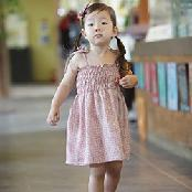 ForesnTree Jury Sun Toddler Dress Viscose Fabric Summer Spring Everyday