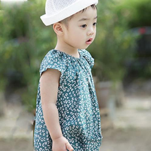 ForesnTree Leopard Jumpsuit Pattern Smooth Sensitive Quality Made in Korea Kids | Sensitive,Quality,MadeinKorea,Kids,ForesnTree,Baby,Toddler,Soft Fabric,Outdoors,Clothing