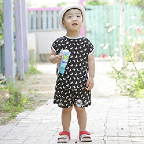 ForesnTree Jeffrey Top and Bottom Set for Kids with Sensitive Skin Viscose Cloth | Sensitive,Quality,MadeinKorea,Kids,ForesnTree,Baby,Toddler,Soft Fabric,Outdoors,Clothing