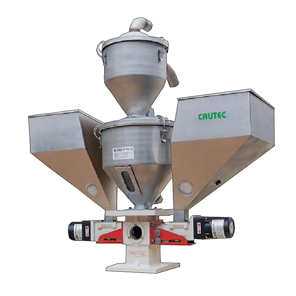 Magic color mixer feeder stainless rational structure design for simple change of colors and easy
