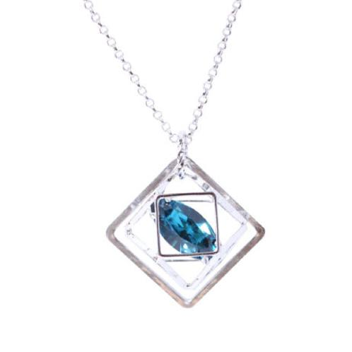SEEDIGLOBAL YENO SWAROVSKI Crystal Pandant Necklace - YCN5045 | SWAROVSKI, Crystal, Pandant, Necklace