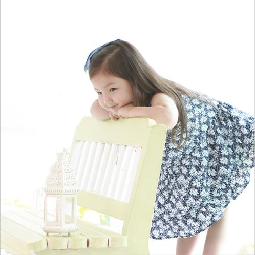 ForesnTree Wild Rose Dress | Sensitive,Quality,MadeinKorea,Kids,ForesnTree,Baby,Toddler,Soft Fabric,Outdoors,Clothing