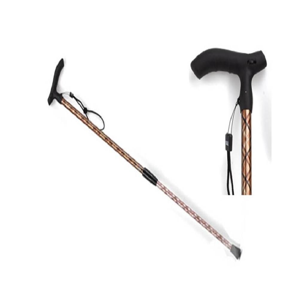 Auto height adjustable cane