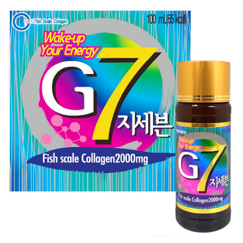 G7 Energy Drink | Collagen Drink, Fish Scale Collagen, Korean Collagen Drink, Drinkable Collagen, Healthy Drink, Eating Collagen