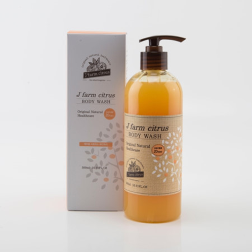 Citrus Body Wash | citrus, body wash, body cleanser, natural, tangerine, jeju