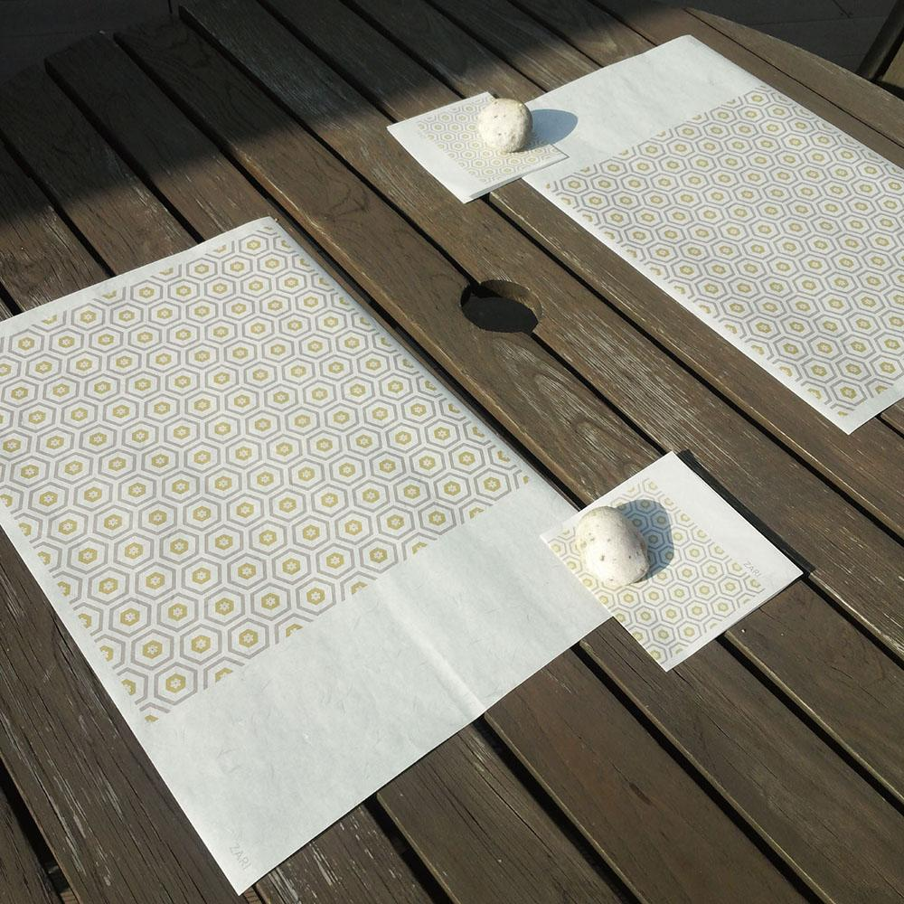 Table mat(Paper)