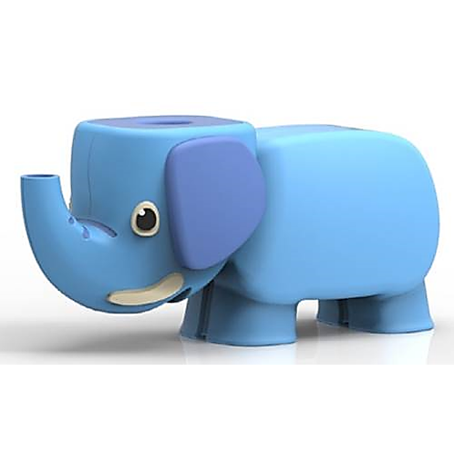 aqua Animal elephant | Toothbrush , Toothbrush Cap, Toothbrush Storage, Water Ejection, Home