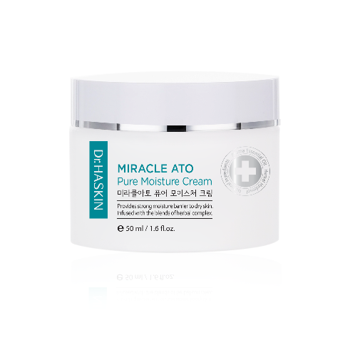Miracle Ato Pure Moisture Cream | Atopy, Acne, Whitening, Elasticity, natural ingredient, hydrosol, Floral Water, natural ingredients, Natural cosmetics, Korean cosmetics, Organic cosmetics, Herb, Herbal cosmetics, skin care, cream, moisture cream