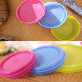 One touch Airtight Silicone food container JM-0303021001 | silicone food container, food container, silicone, easy, convenient, fda, clean, strong closed power, airtight food container