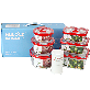 Hulock Airtight Food Storage Vacuum Containers Set of 6, 3 Piece Round and Rectangular + Vacuum Pump | Hulock Airtight Food Storage, Vacuum Containers Set of 6, 3 Piece, Round and Rectangular + Vacuum Pump