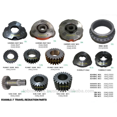 FINAL DRIVE | FINAL DRIVE,TRAVEL-REDUCTION,GEAR-BOX,REDUCTION-GEAR,HEAVY EQUIPMENT PARTS