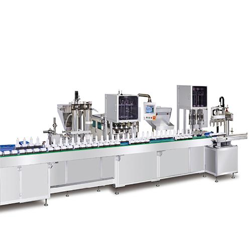 Multi Cell Line | Packing, cosmetics, filling, capping, machine