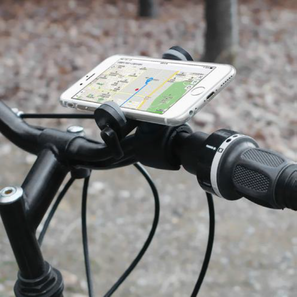 Bicycle and Motorcycle Smartphone Cradle