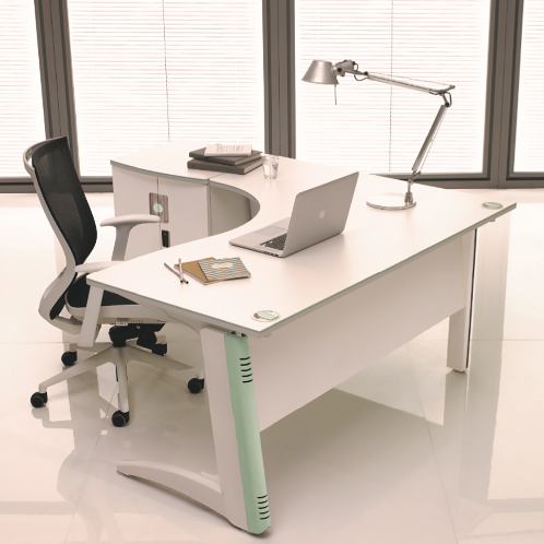 2017 CIRK-ONE SERIES[WD716D] | Office desk, office furniture, Functional furniture, design, chair, storage space