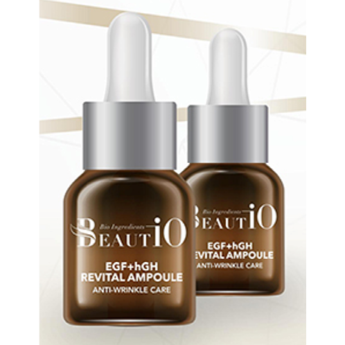 Beautio EGF+hGH Revital Ampoule | Cosmetic, Skin-care, Anti-aging, EGF, hGH, wrinkle improvement, Whitening effect, Skin elasticity & Vitality, Revital Ampoule,Cosmetics, Essence, Ampoule, EGF, hGH, Functionality, Bio, Wrinkles, Anti-aging, Косметическая продукция, эссенция, EGF, hGH