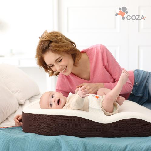 COZA BABY BED | baby, bed, sleep, coza, baby product, portable, e pillow