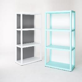 YOURSHELF 3 tier display shelves - white