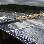 Automated Solar Panel Cleaning System