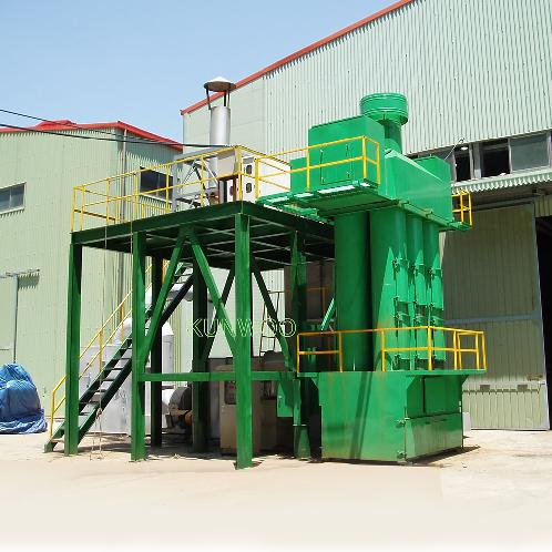 Wet Electric Ion Scrubber | Electrostatic Precipitating Equipment, Electrostatic Precipitator, Precipitator, Air Pollution Prevention Facility, Air Purifying, Aerosol(White Fume) Processing Equipment