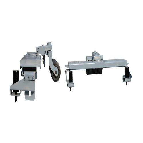 Prevent early wearing out of the return roller Returns Self-Aligning Device Botton-Up LSA1050 | eturns Self-Aligning Device Botton-Up, Conveyor Belt, Pressure roll system, bracket, guide roller