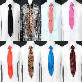 Multi-pattern necktie