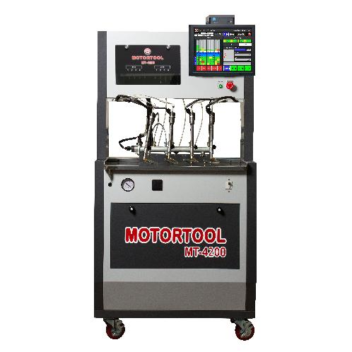 CRDI TEST BENCH MT-4200, COMMON RAIL INJECTOR TESTER, FLOW METER | CRDI, DIESEL INJECTOR TESTER, CRI, COMMON RAIL, TEST BENCH, INJECTOR CLEANER