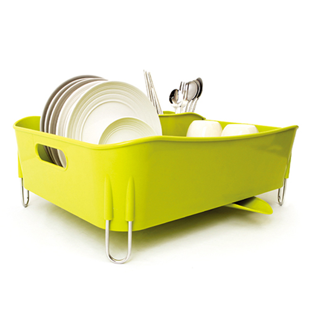 I-NEX Spin Drain Way Dish Rack
