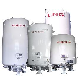 Cryogenic Storage Tank (Diameter : 1250~2400mm / Height : 5428~12808mm) for storage