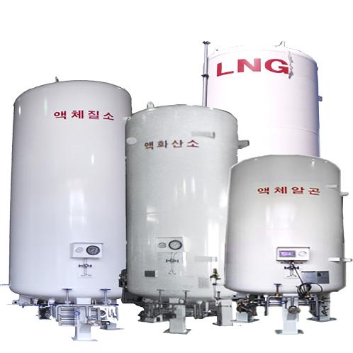 Cryogenic Storage Tank (Diameter : 1250~2400mm / Height : 5428~12808mm) for storage | pressure, vessel, cryogenic, storage, tank