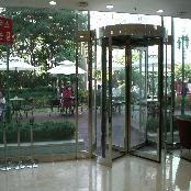 Automatic/Manual Revolving Door