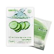 It's real color hydro-gel  mask - cucumber