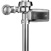 Automatic valve for solar urinal