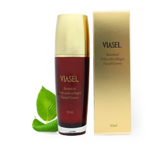 VIASEL Botanical Essence | Vegetable extract, elasticity recovery, treat wrinkle, fish scales collagen, low molecule collagen