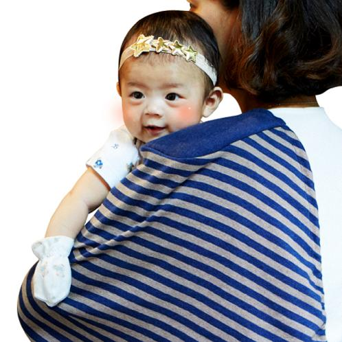 strap-cushion Bib for parents | Mama bib, epaulette type mama bib, infant head protection pad