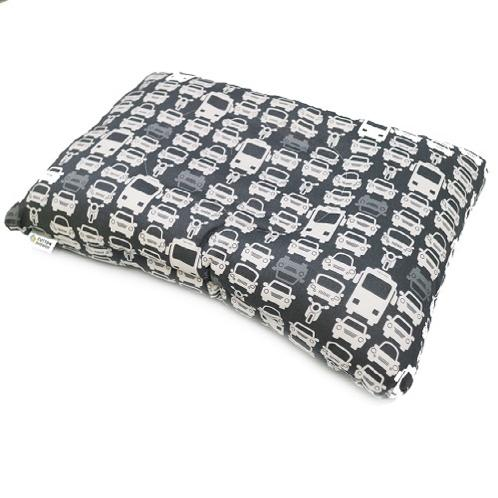 Functional cotton pillow to be cleaned entirely to bacteria in internal roll pillow - Black | Pillow, cushion ,turtle neck syndrome, prevention of wrinkles on a neck, functional pillow, mite