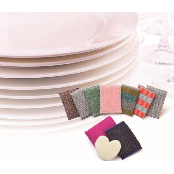 Textile sponge for kitchen
