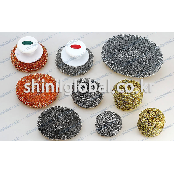 Steel wool sponge for kitchen