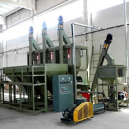 RECYCLED PSF PRODUCTION LINE