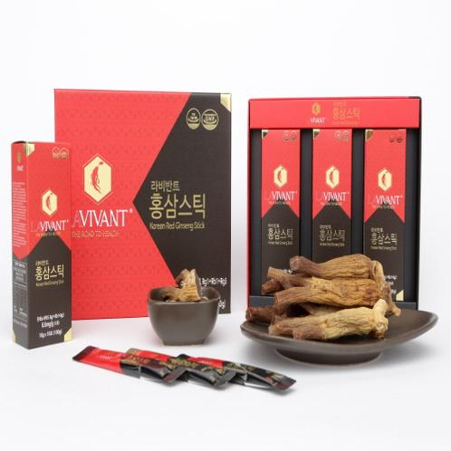 Lavivant Red Ginseng Stick | Korean Red Ginseng Stick, Health Functional Food, Red ginseng