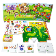 Smarti Play : Animal | Detachable, Sticker, Picture Card, Language Study, Play Study, Smart Study, Animal