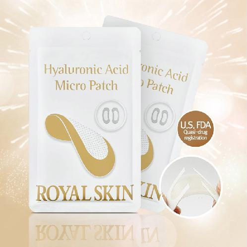 ROYAL SKIN Hyaluronic Acid Micro Patch / A patch containing hyaluronic acid that directly permeates | Hyaluronic Acid Micro Patch,  A patch containing hyaluronic acid that directly permeates