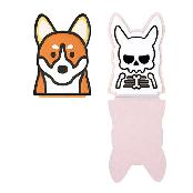 HOLDZOO STICKY PAD Welsh Corgi / No Residue / Holder Anti-Slip Non-Slip Mat for phone