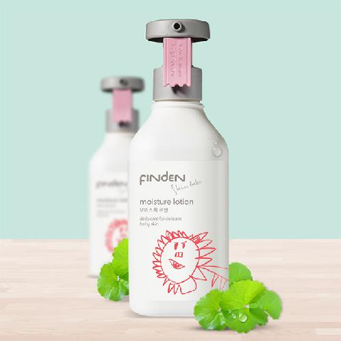 Finden Skinbebe Moisture Lotion | Mild,complete cleansing effects, Comfortable aroma effects, FINDEN'S own patened substance